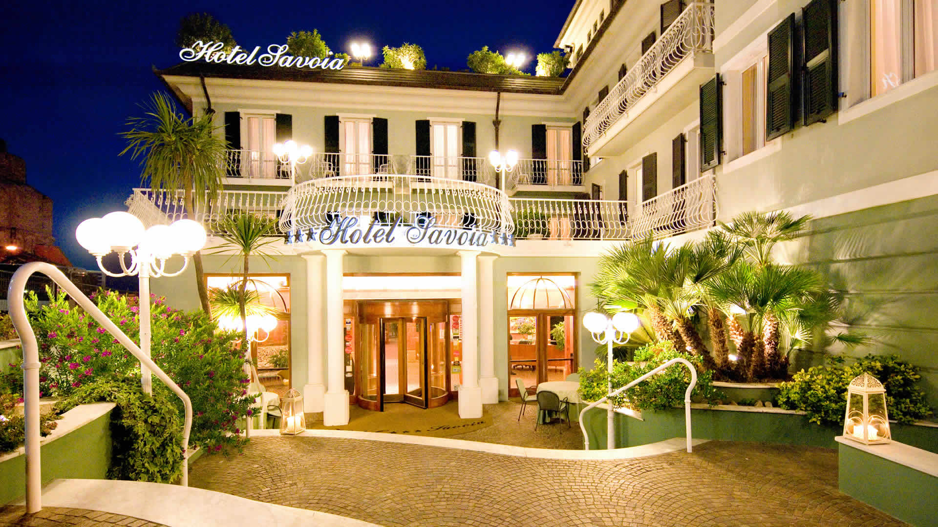 Hotel Savoia Das Meer Alassio Hotel 3 Familie Kinder Urlaub Hotel